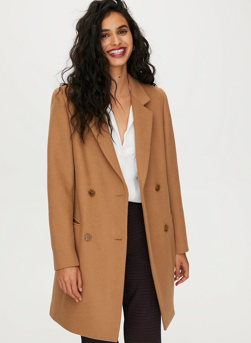 HARRINGTON WOOL COAT - Blazer-style wool coat