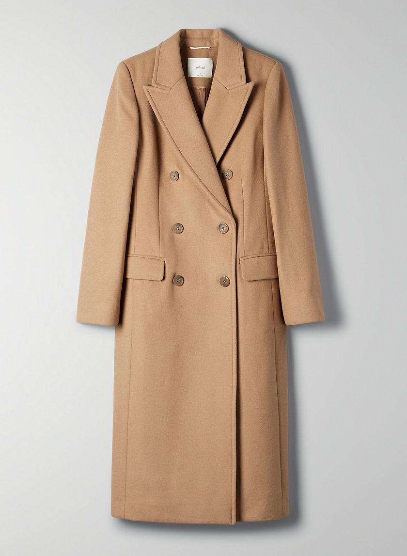 KERR WOOL COAT - Double-breasted wool coat