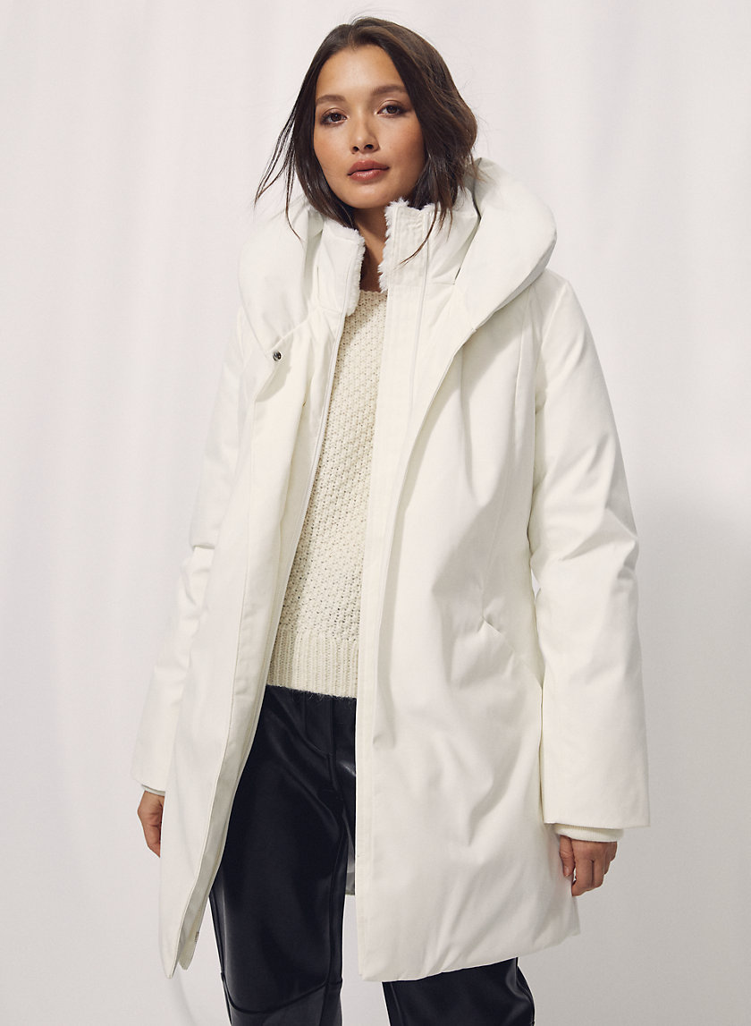 COCOON PARKA - Tailored down-filled parka