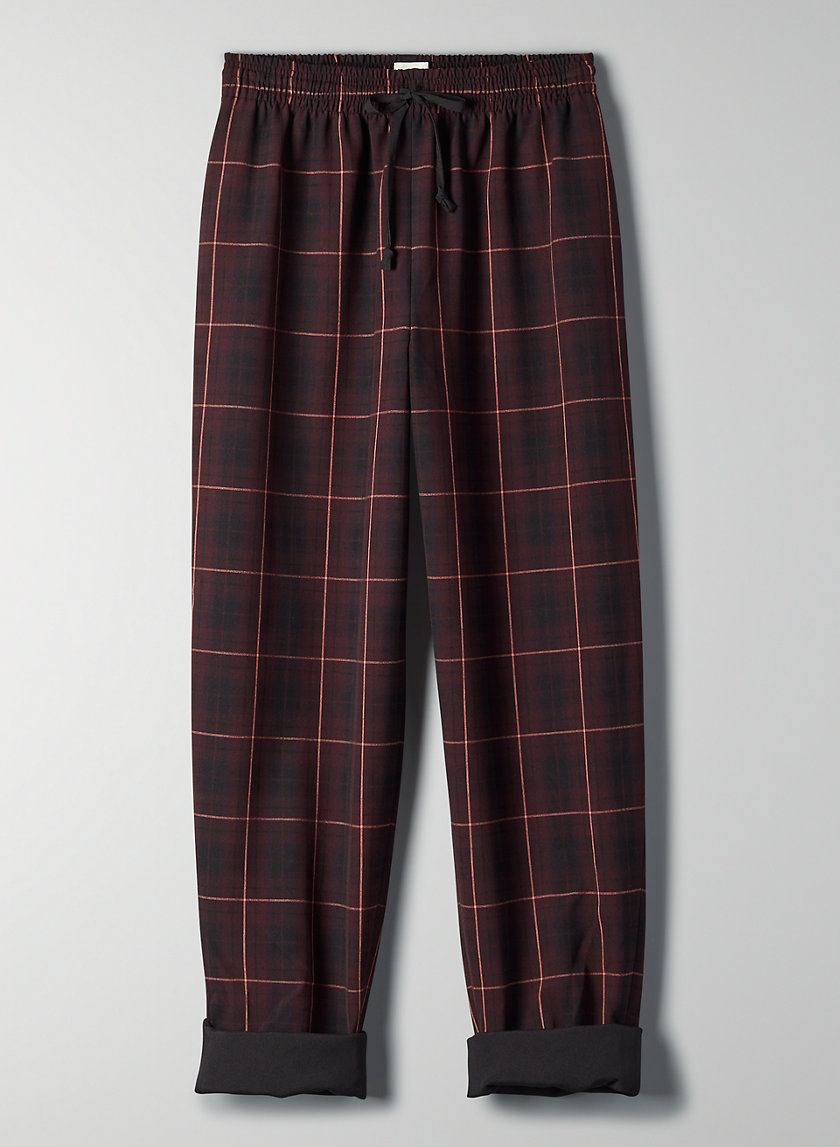 SOLESTE PANT - High-waisted drawstring pant