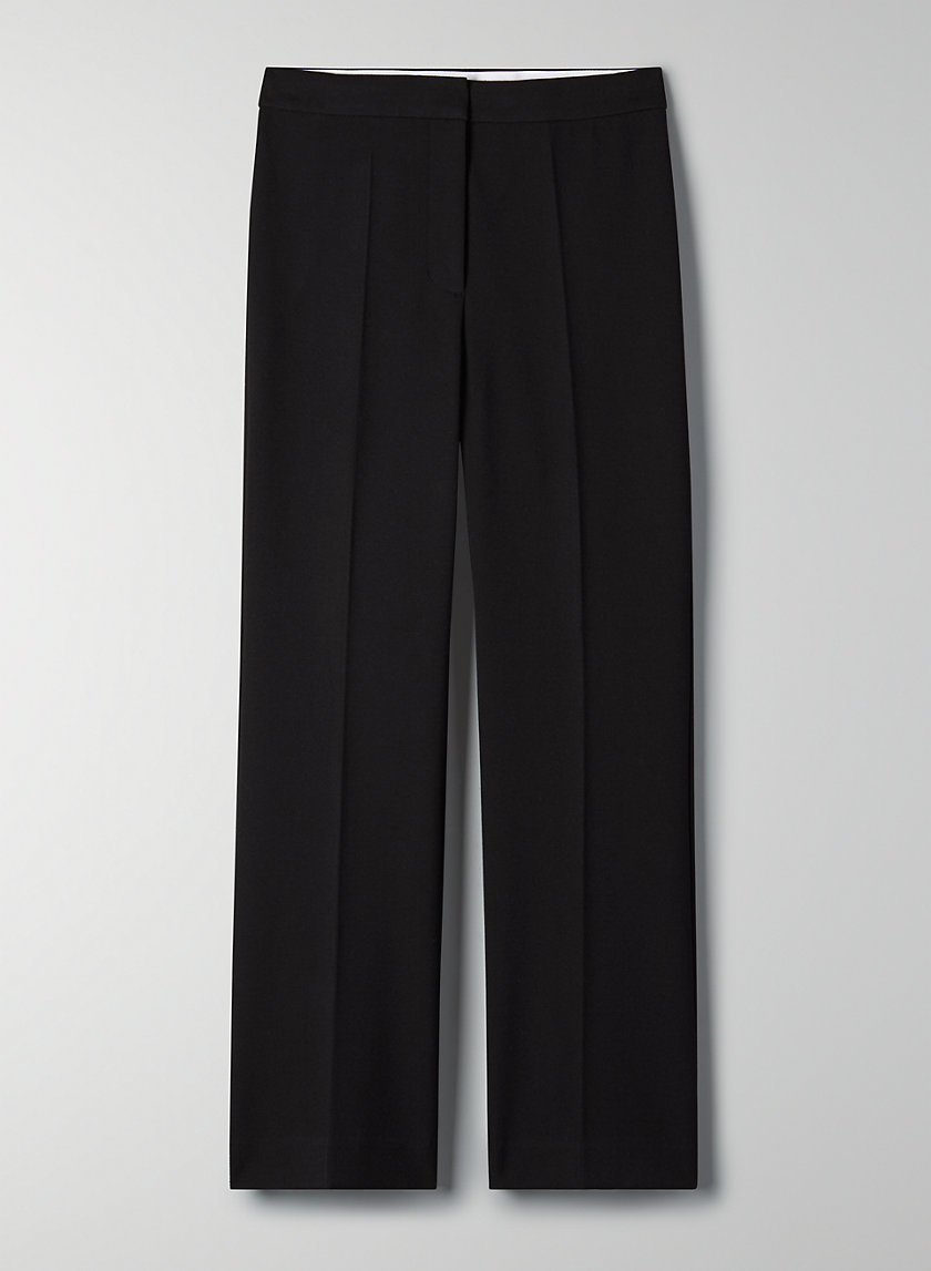 GENIE PANT - Cropped flared trouser