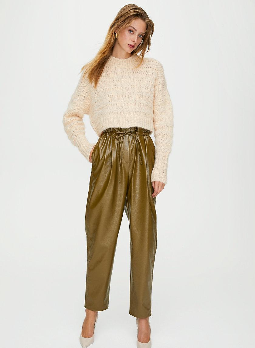 JIVE PANT - Faux leather pants