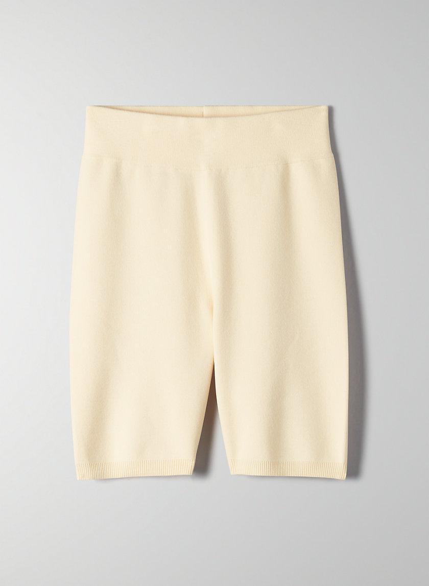 "MACKENZIE SHORT 7"" - High-waisted bike shorts"
