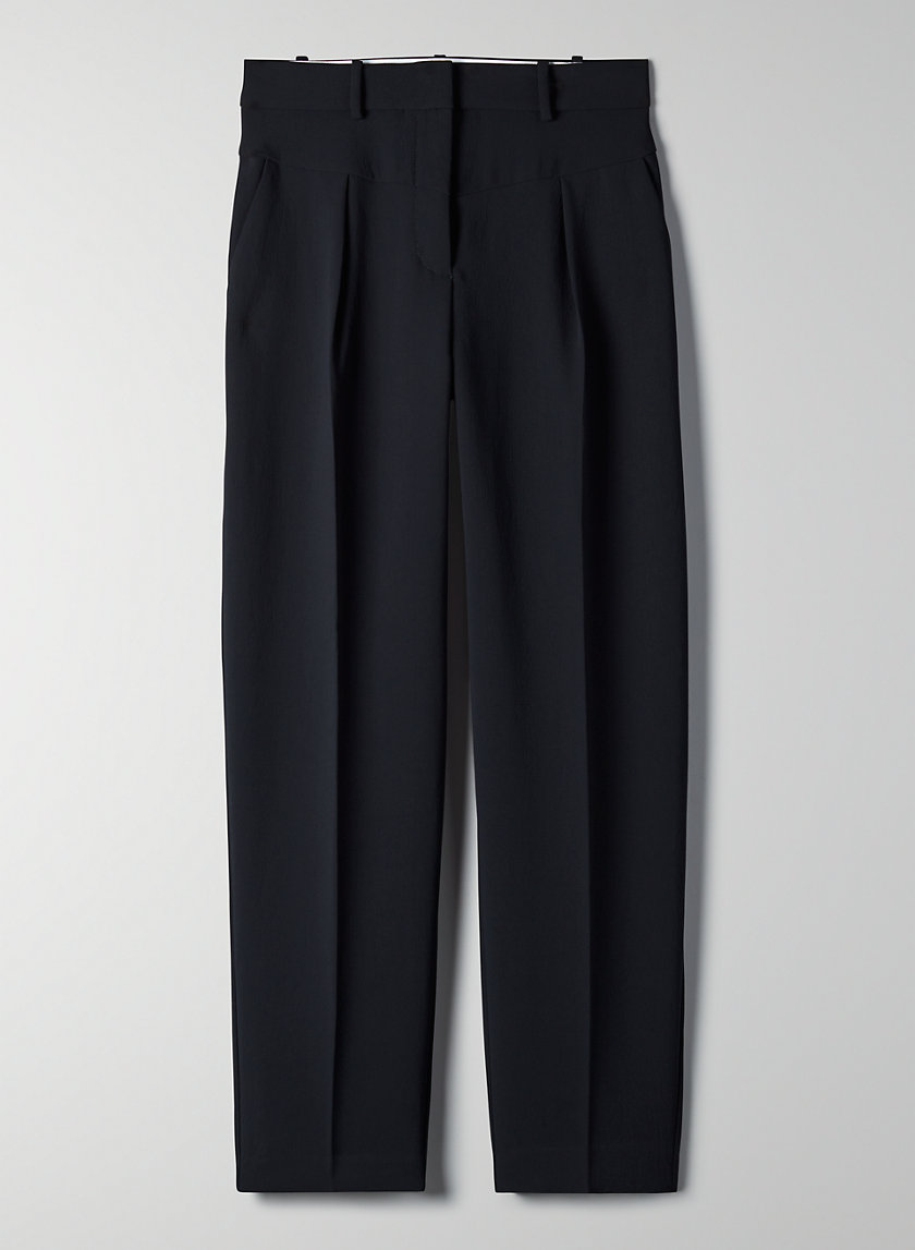 DIAMANTE PANT - High-waisted trousers