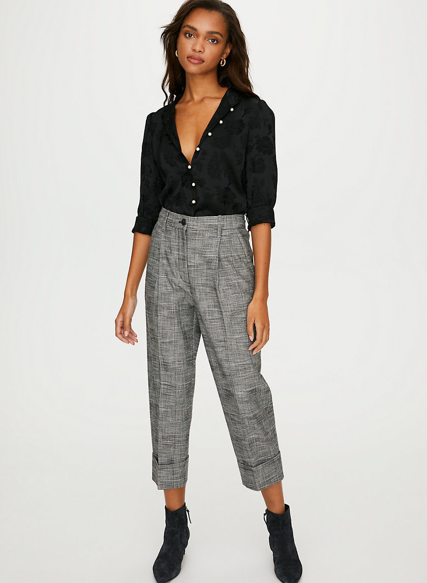 HAIKU PANT - High-waisted dress pants