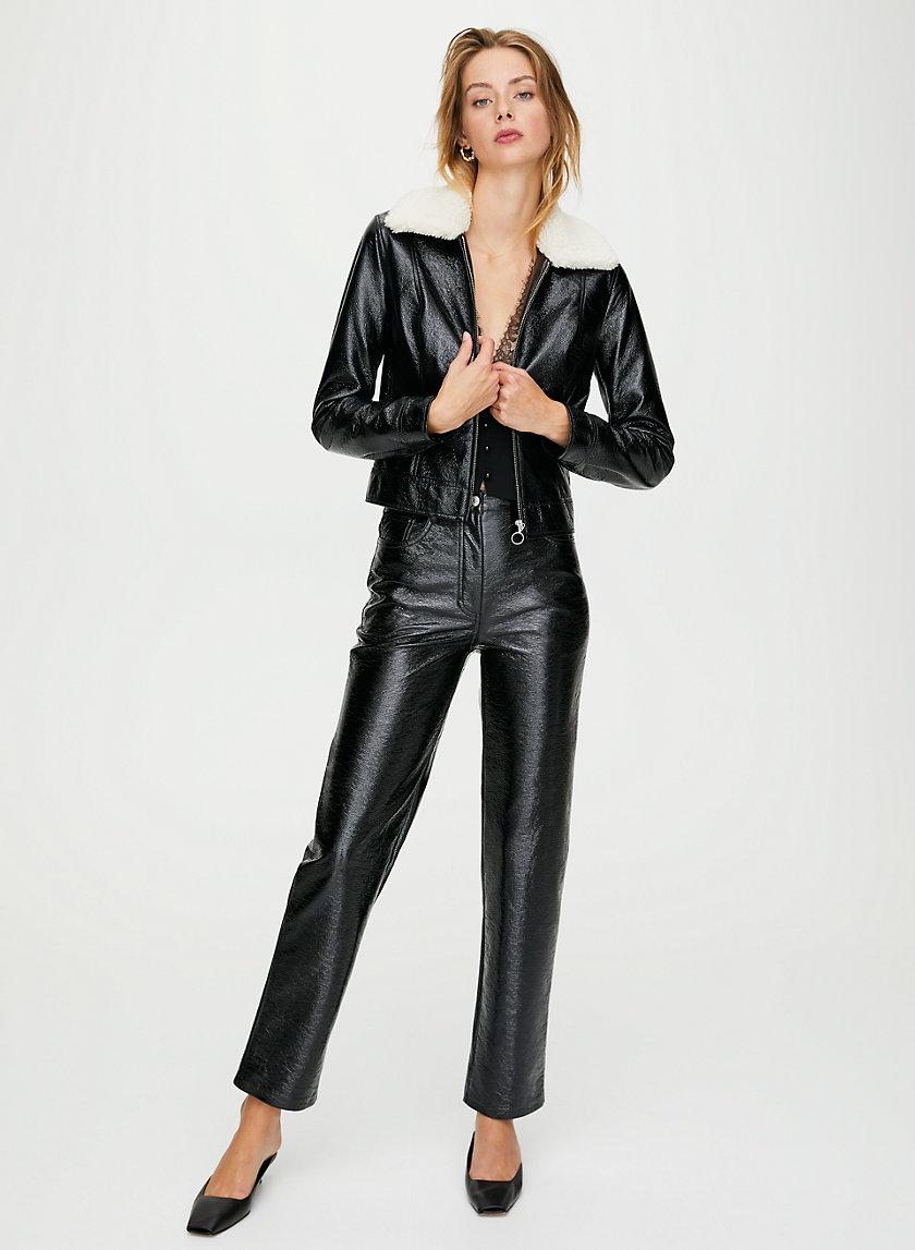 MELINA PANT - Vegan leather pants