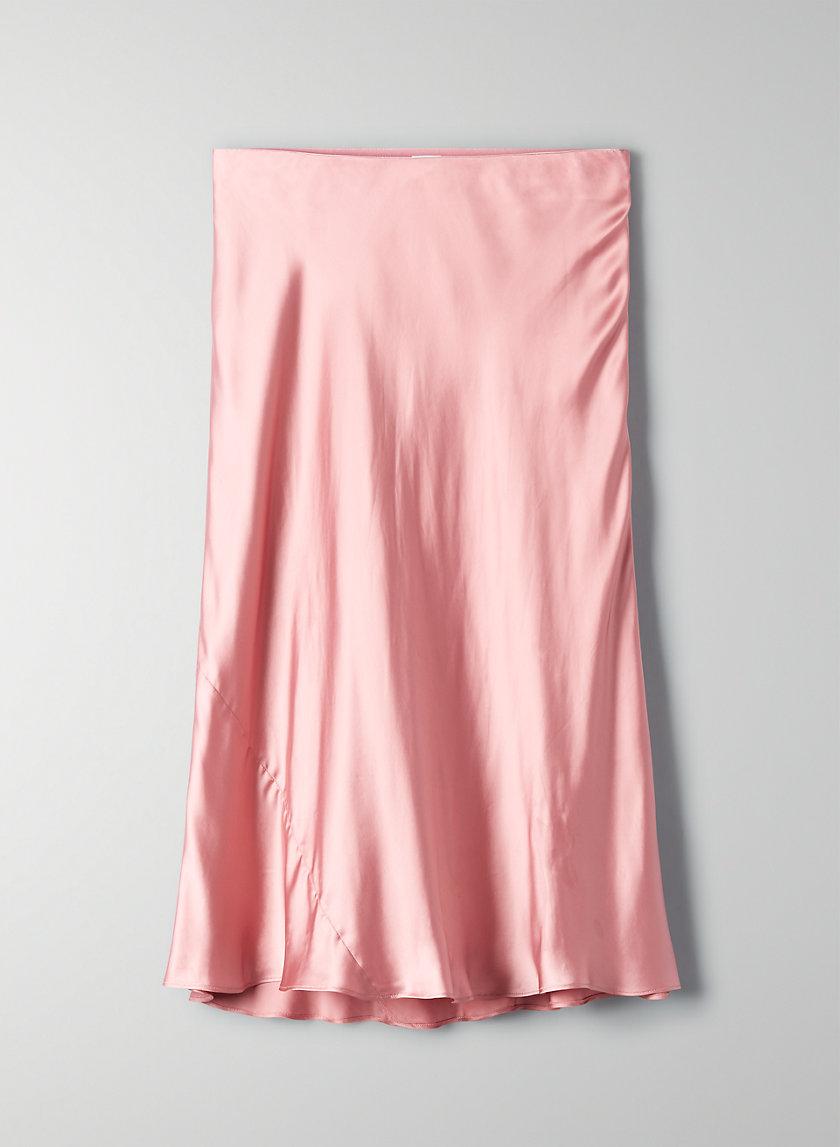 ESTELLE SKIRT - Slip midi skirt