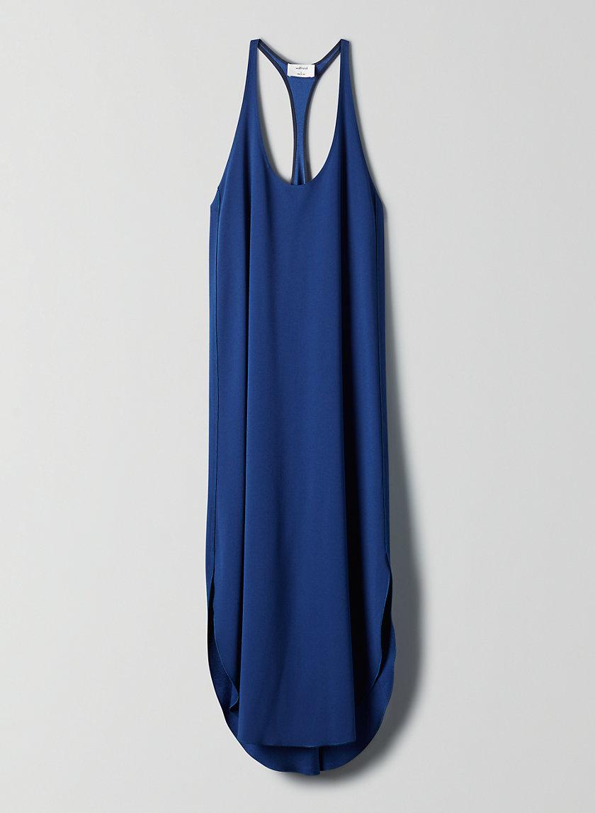 COLONNE DRESS - Racerback midi dress
