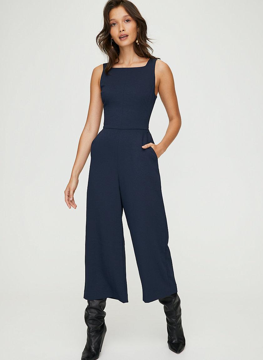 ÉCOULEMENT JUMPSUIT - Tie-back, sleeveless jumpsuit