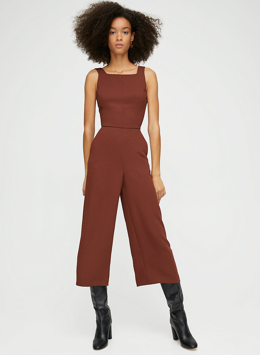 ÉCOULEMENT JUMPSUIT - Tie-back, sleeveless jumpsuit