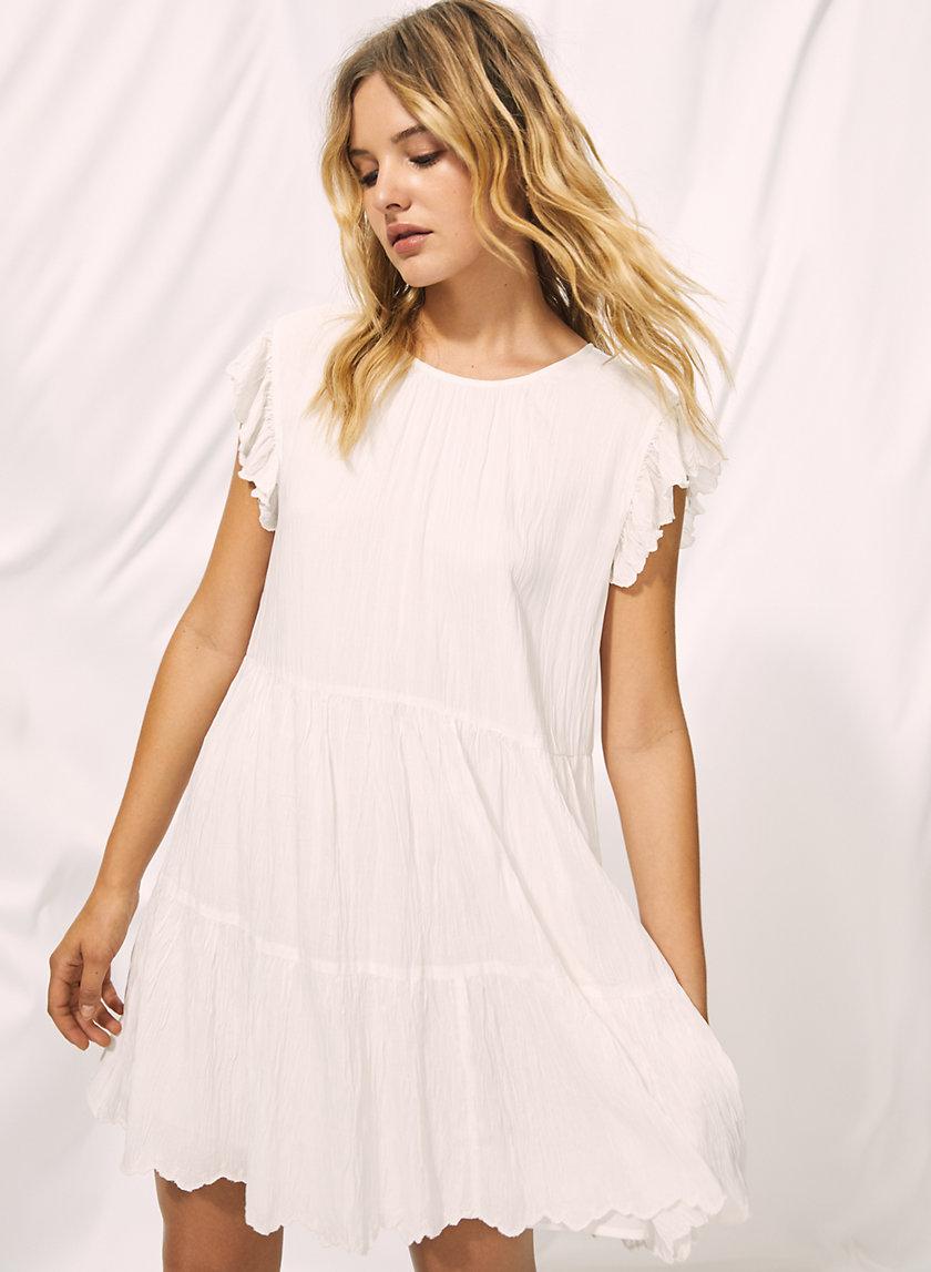 SIDONIE DRESS - Ruffled shift dress