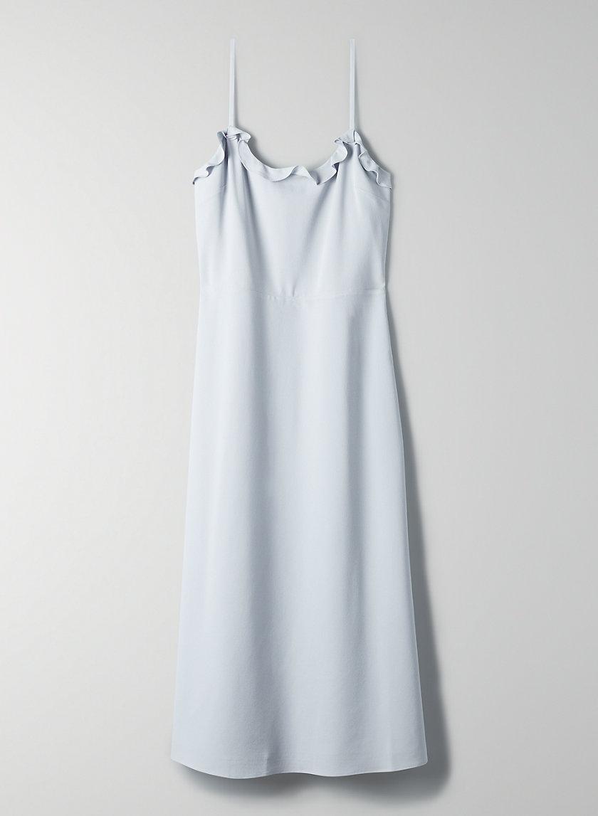 PHILOMÈNE DRESS - Ruffled, A-line midi dress