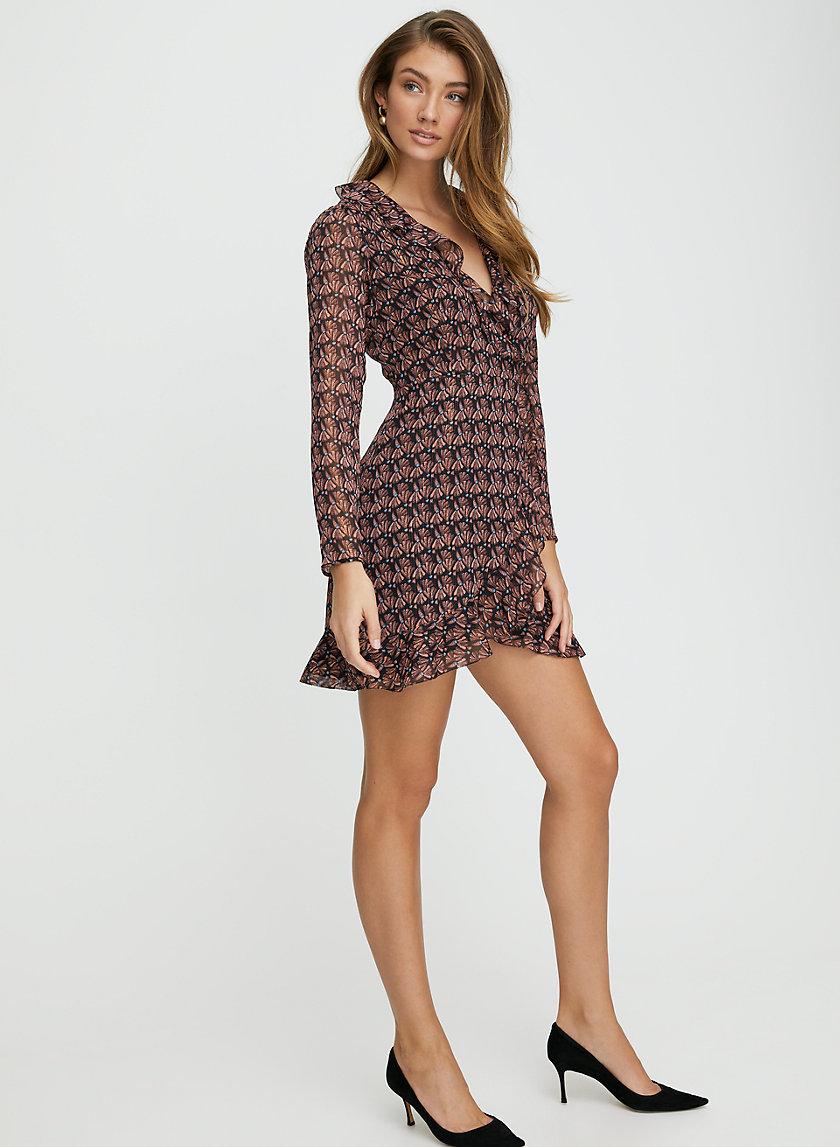 LOUISE DRESS - Mini wrap dress