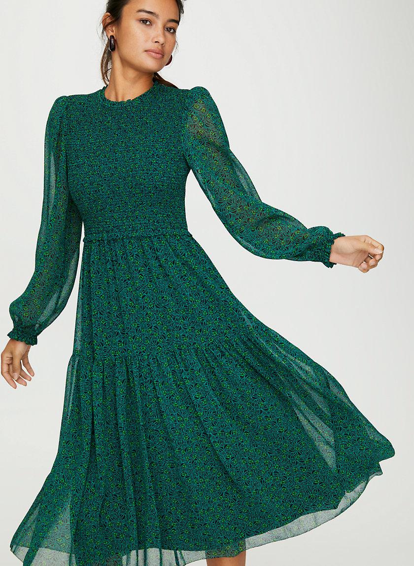ROSALYN DRESS - Floral chiffon dress