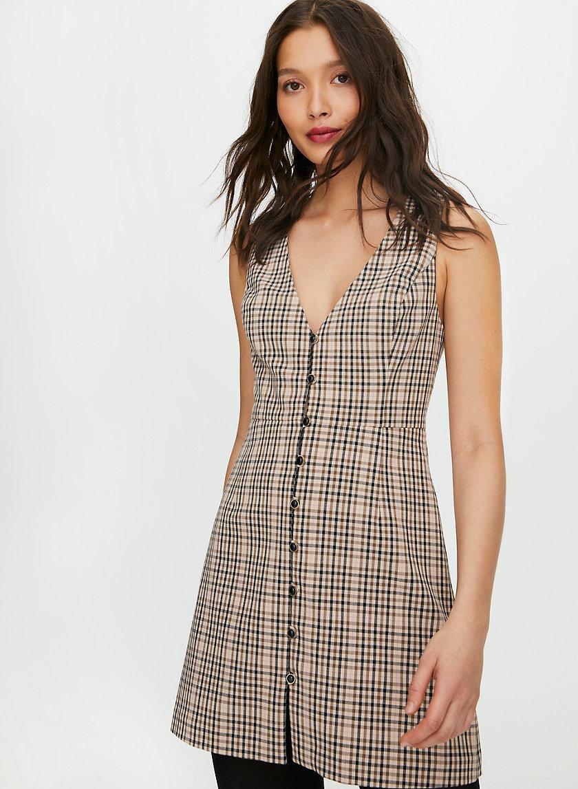 SURI DRESS - V-neck mini dress