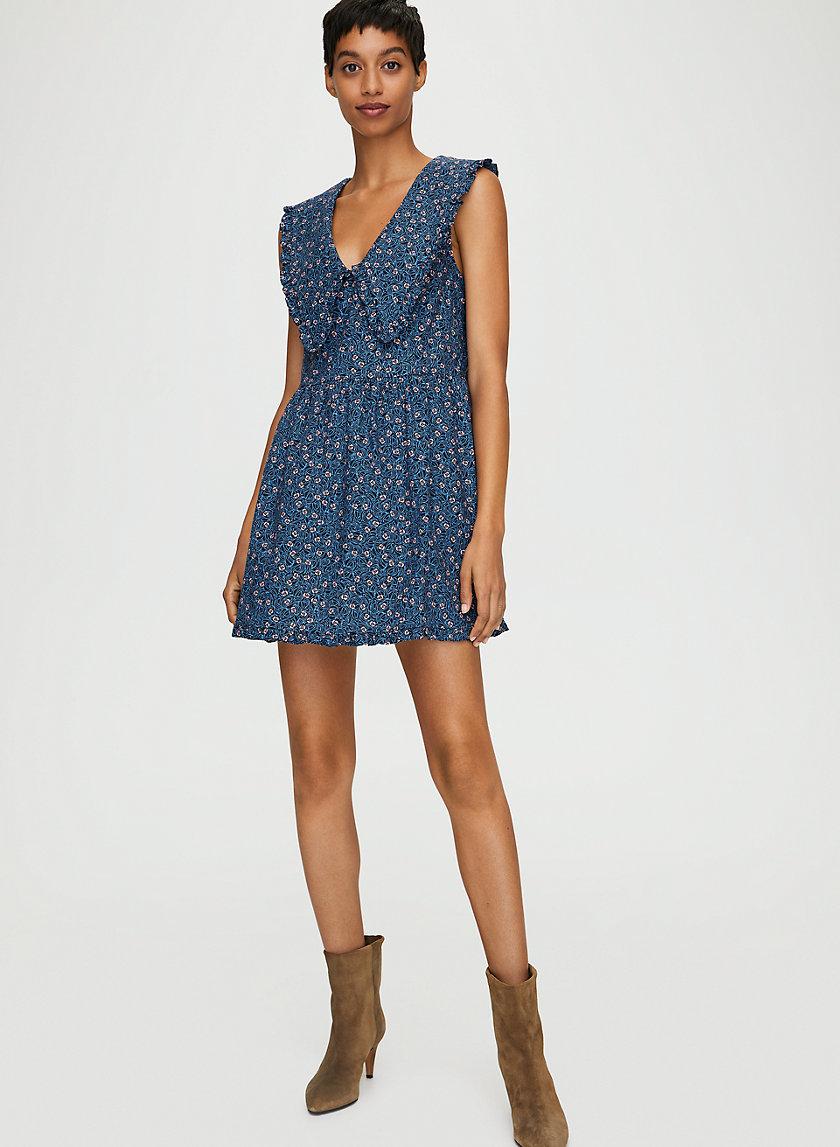 SELMA DRESS - Sleeveless cotton dress