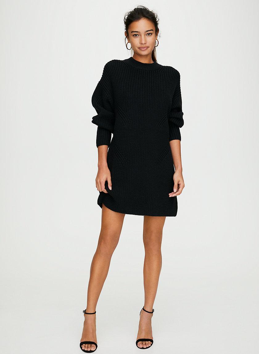 REQUIEM WOOL DRESS - Merino wool sweater dress