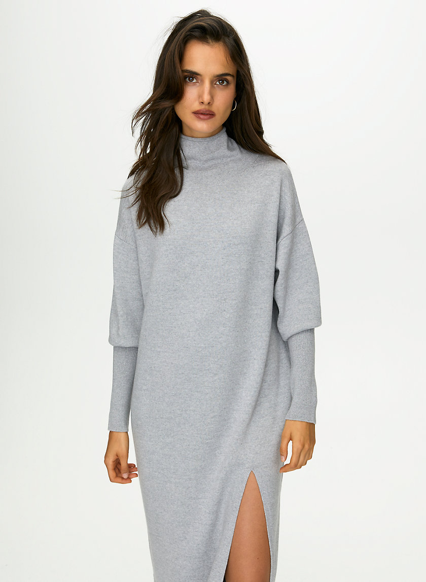 CYPRIE DRESS - Relaxed long-sleeve sweater dress