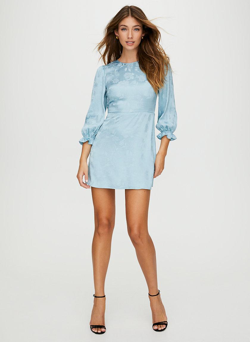 BAROQUE DRESS - Ruffle sleeve mini dress