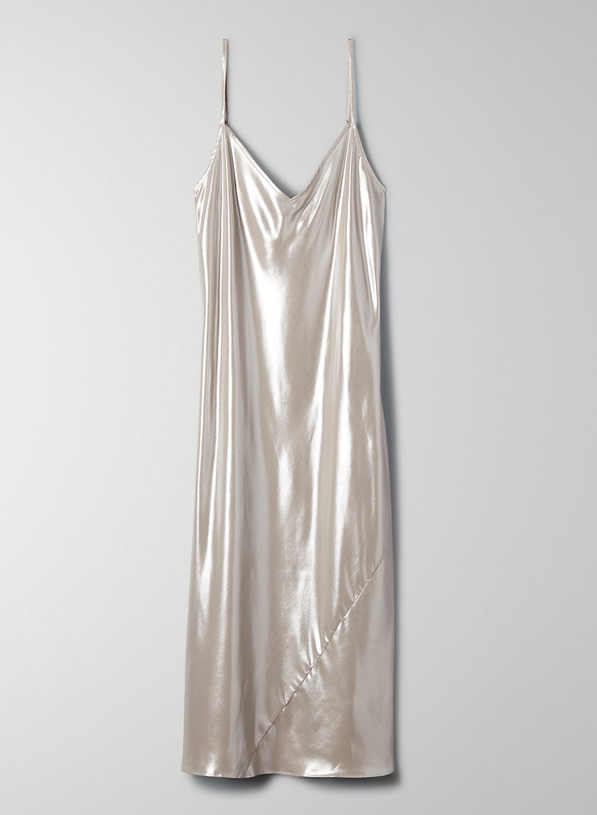 ONLY SLIP DRESS - Shiny slip dress