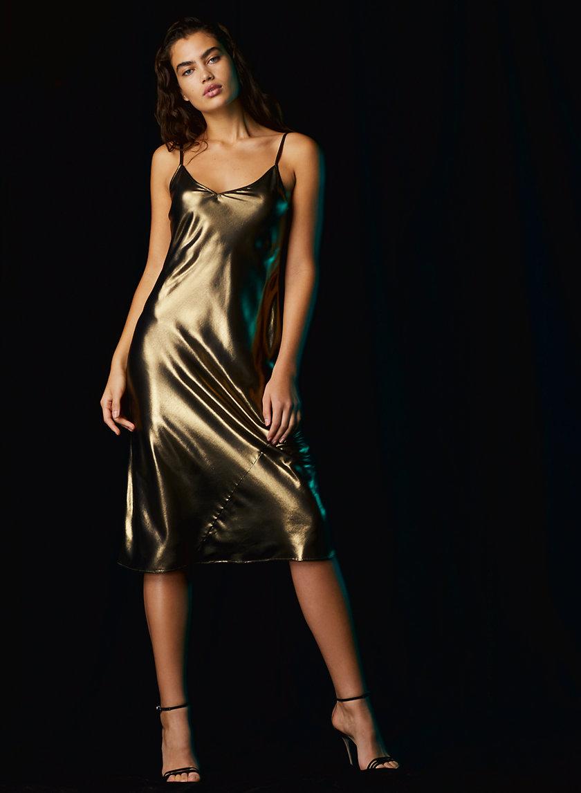 ONLY SLIP DRESS - Shiny slip dress