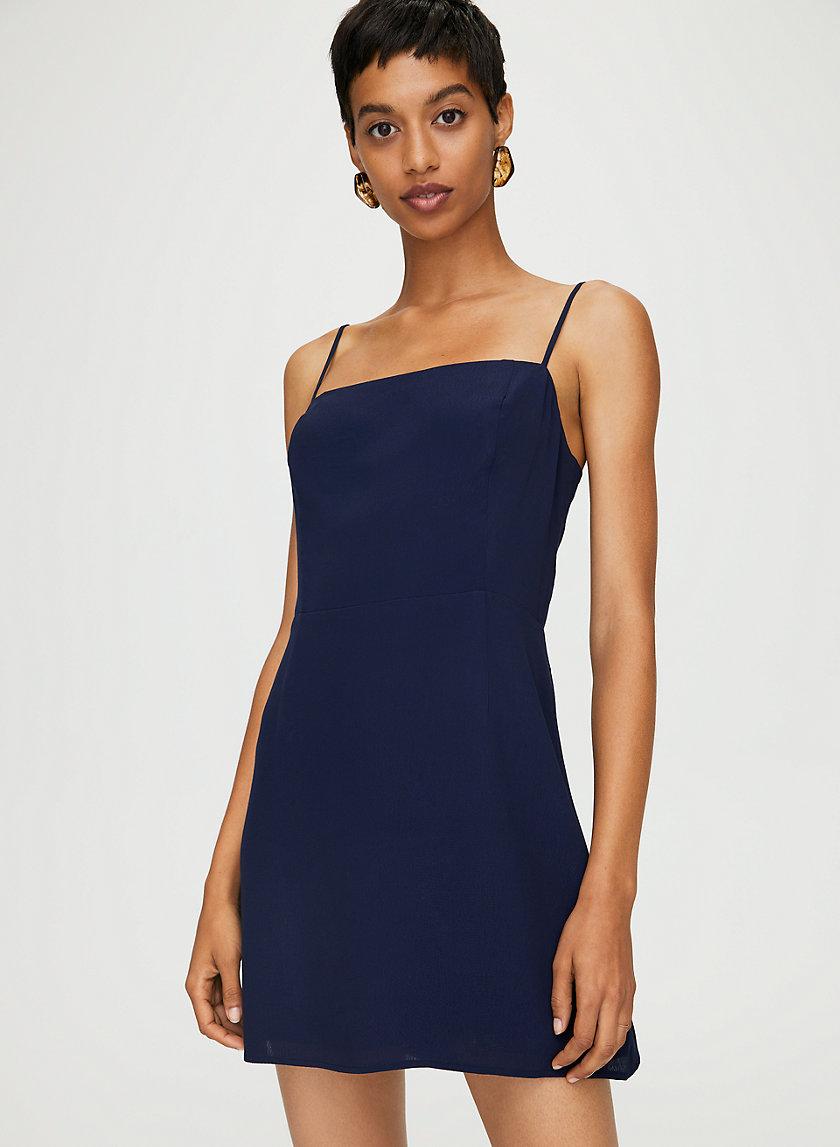 NEW CLASSIC MINI DRESS - 90s square neck dress