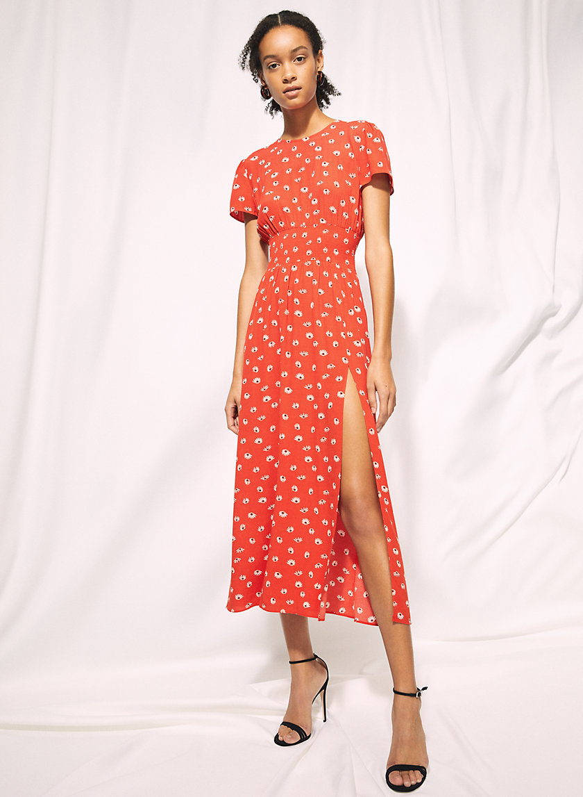 MAXIME DRESS - Floral maxi-dress