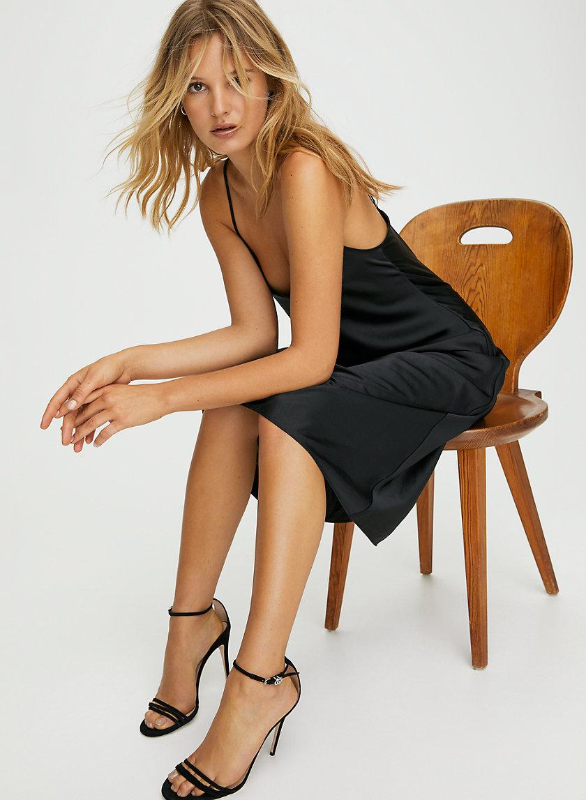 ONLY SLIP DRESS - Slinky midi slip dress