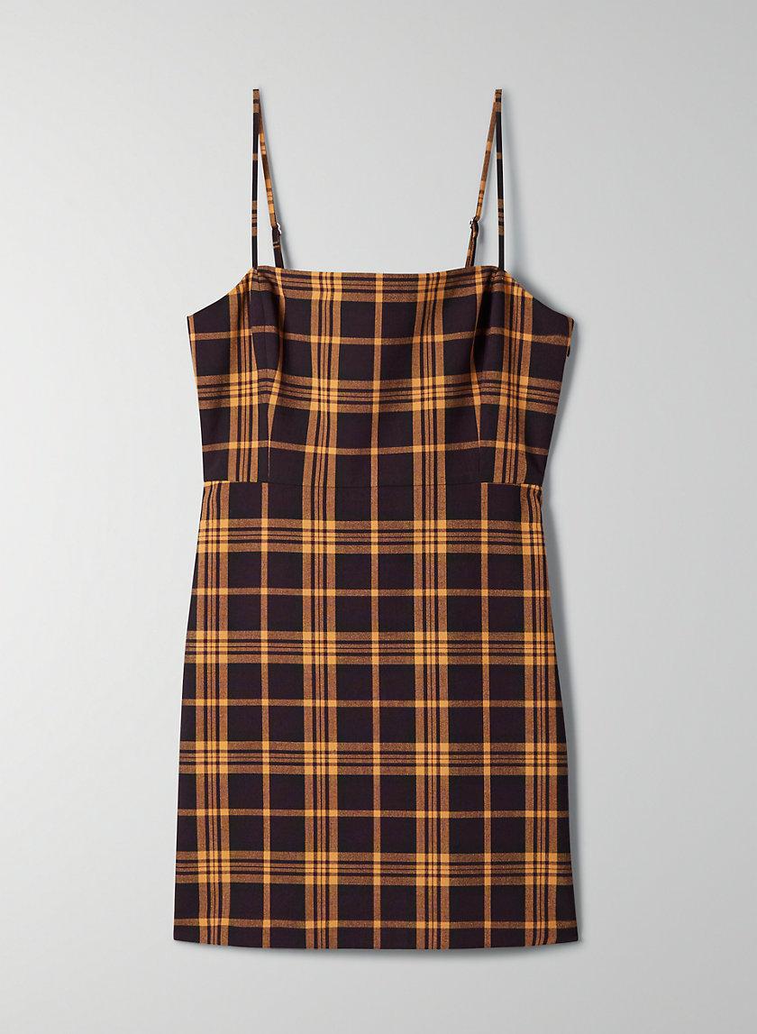 NEW CLASSIC CHECK MINI DRESS - Plaid mini-dress