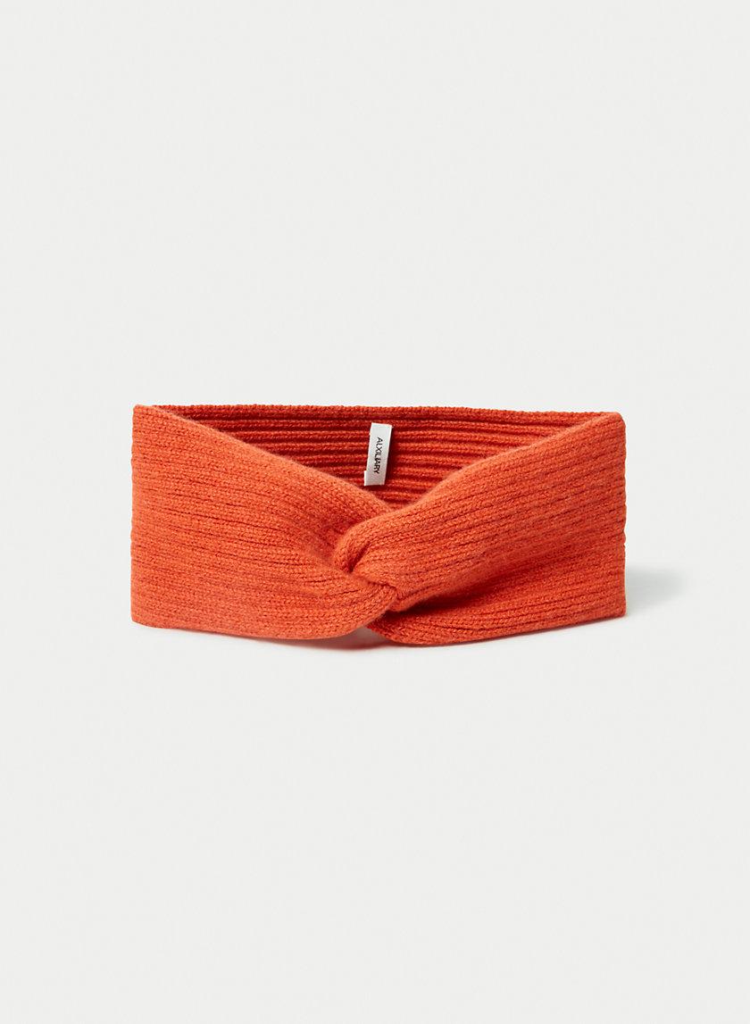 CASHMERE HEADBAND - Ribbed cashmere headband
