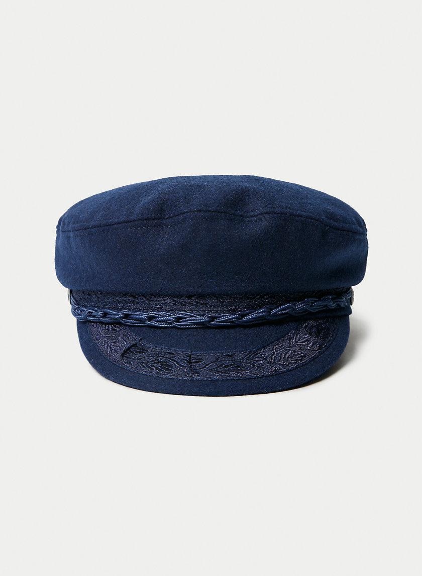 FISHERMAN HAT - Fisherman-style flat cap