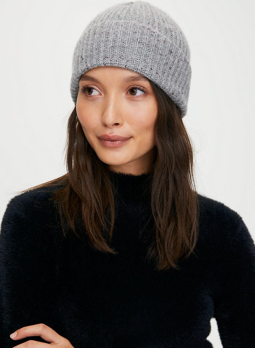 CASHMERE BEANIE - Cashmere knit beanie