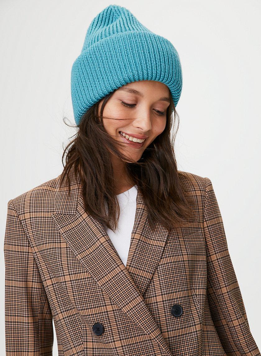 WOOL CUFF BEANIE - Cuffed merino wool toque