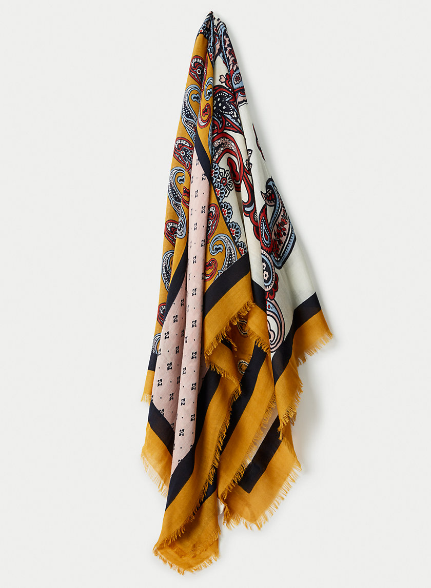 PATCH BLANKET SCARF