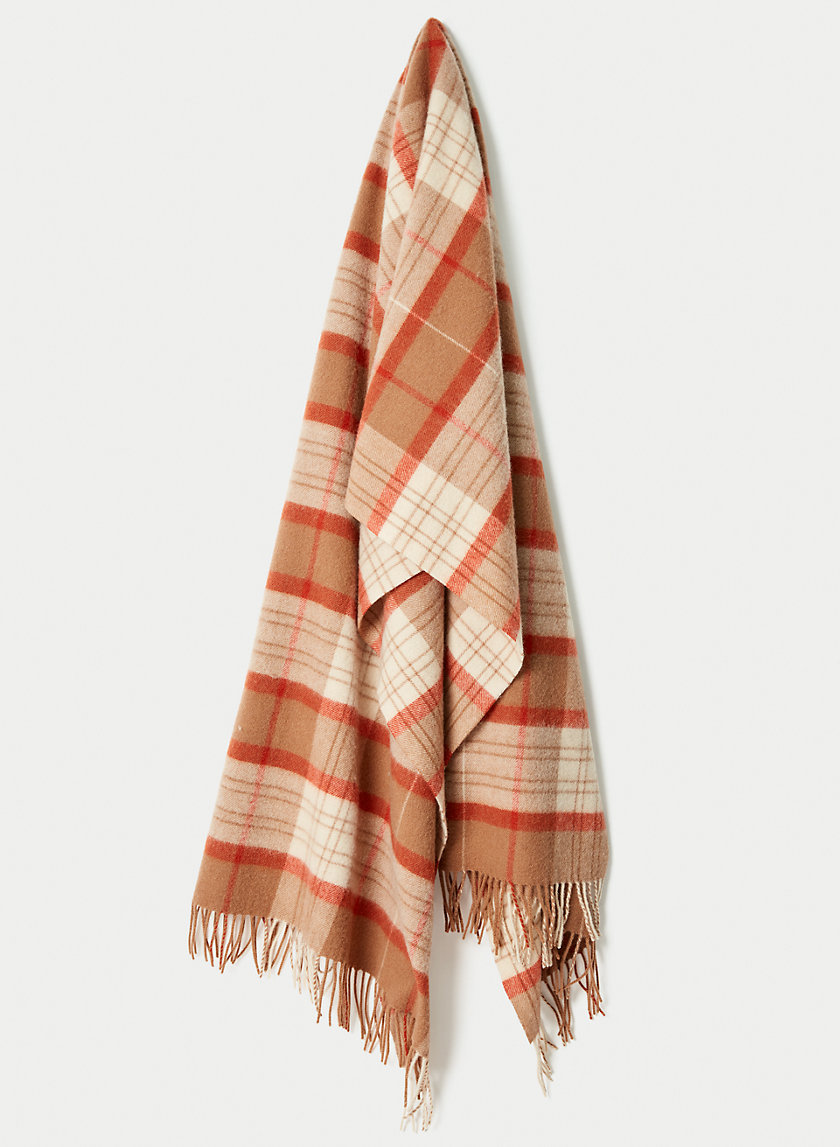 THE CLASSIC WOOL SCARF - Plaid oblong scarf