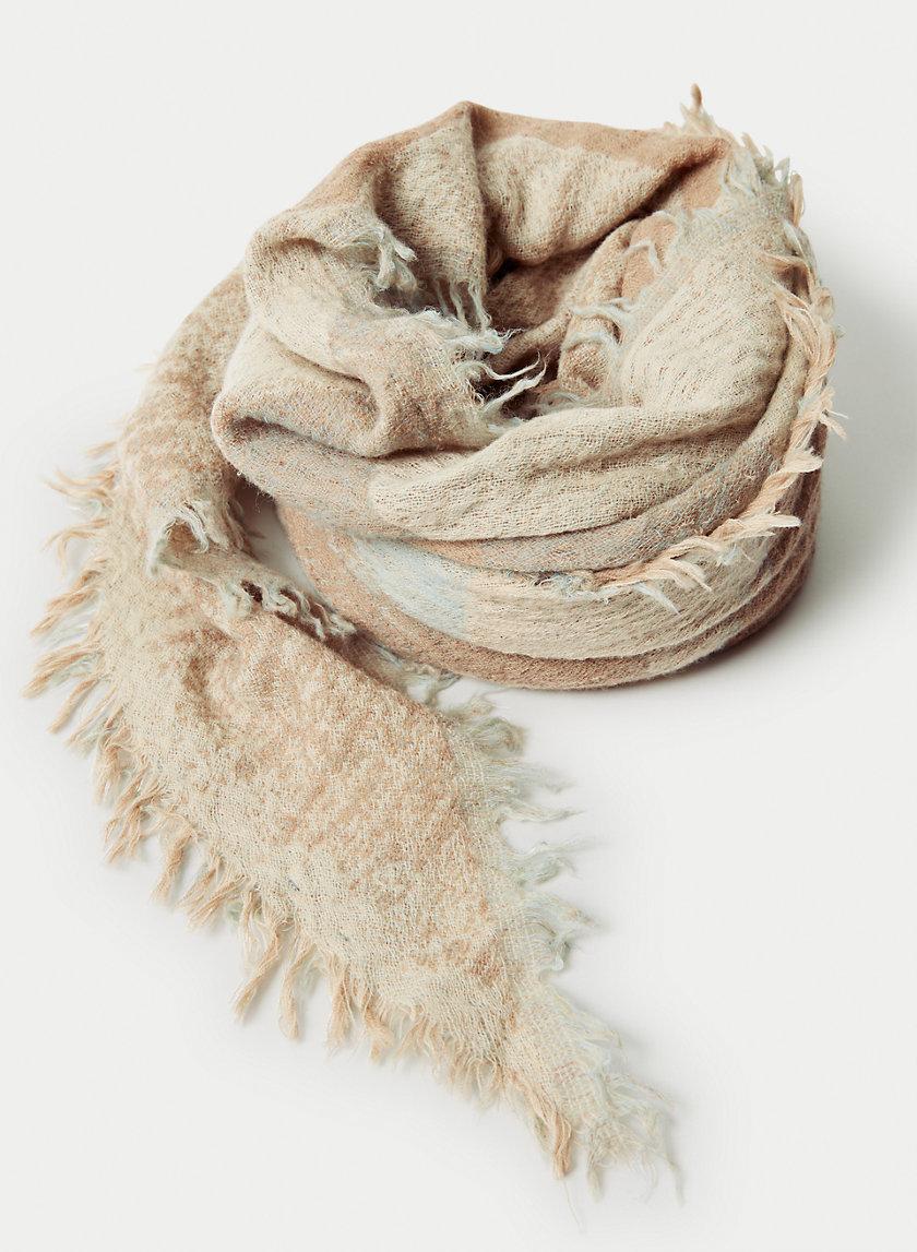 ROTHKO SCARF - Printed wool triangle scarf