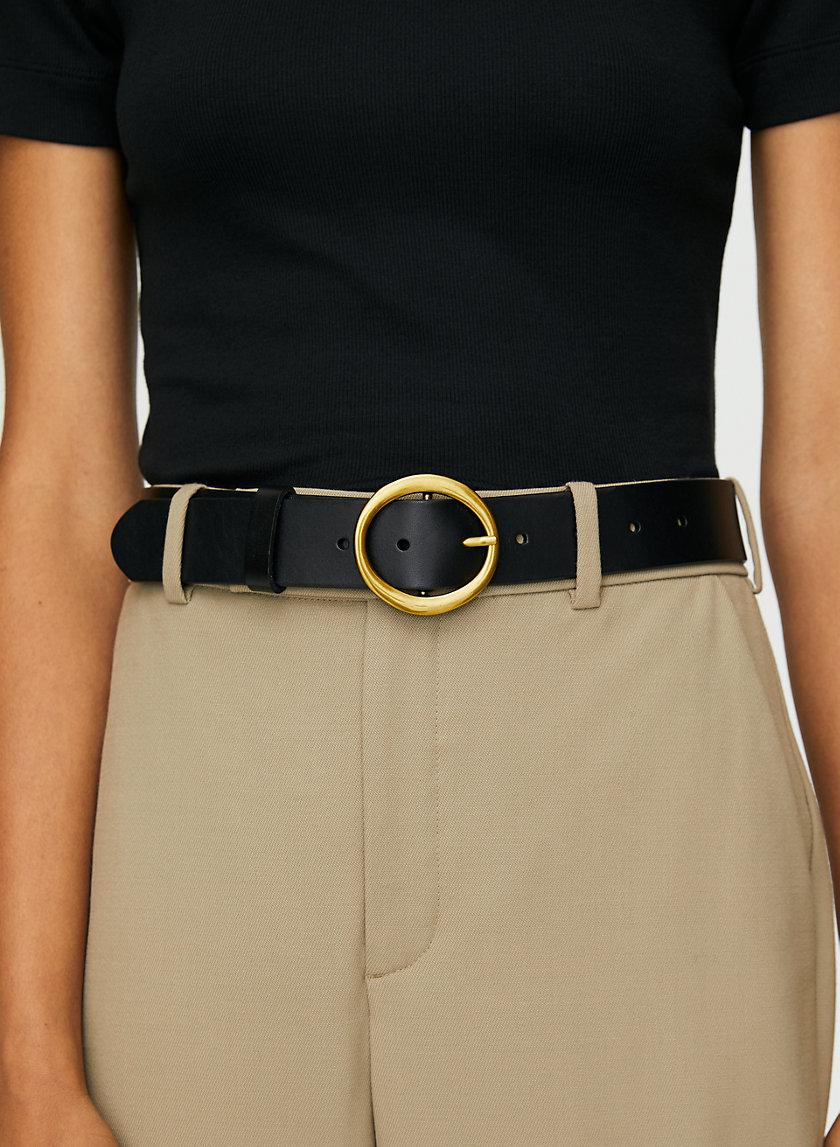 CLASSIC BELT - '60s-inspired leather belt