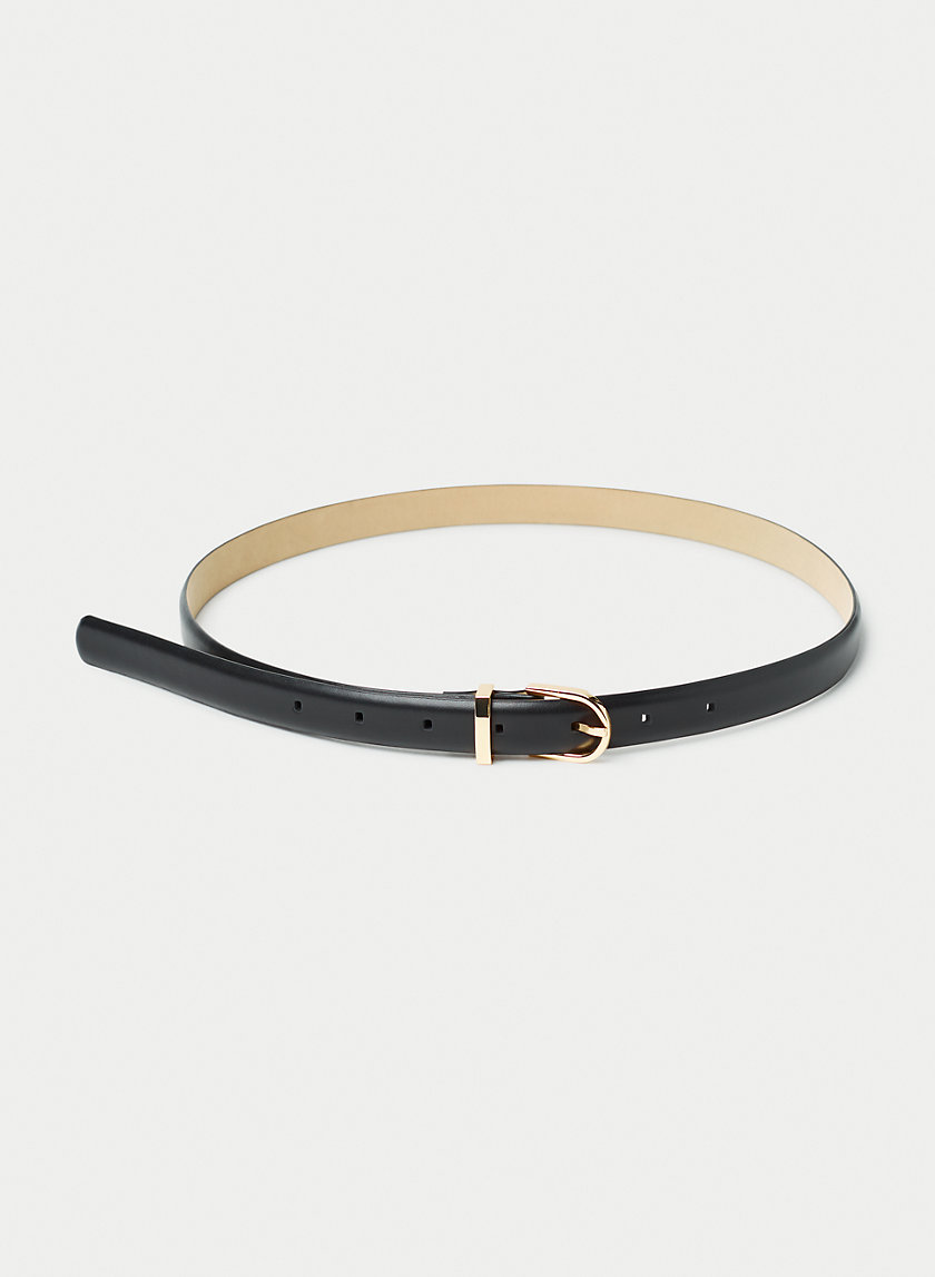 AMOS DRESS BELT - Leather belt