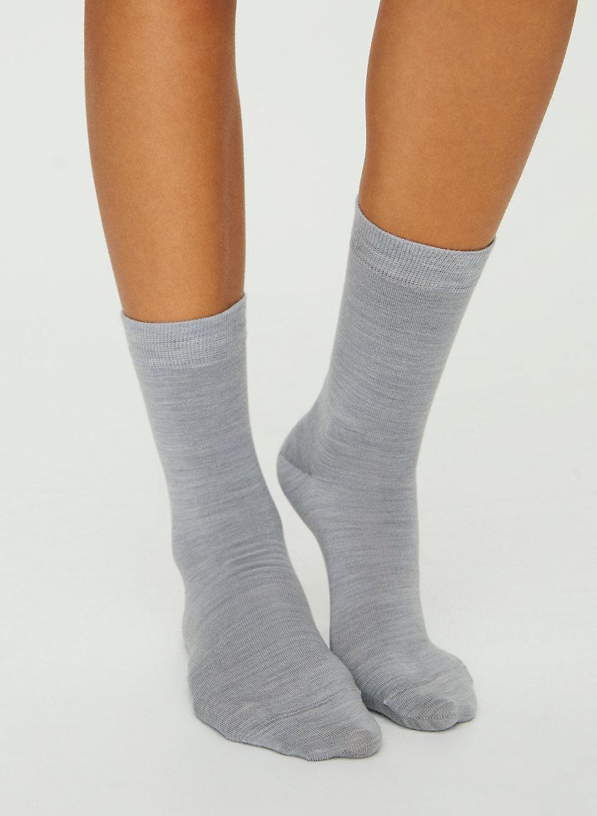 LUXE CREW SOCKS - Merino wool high socks