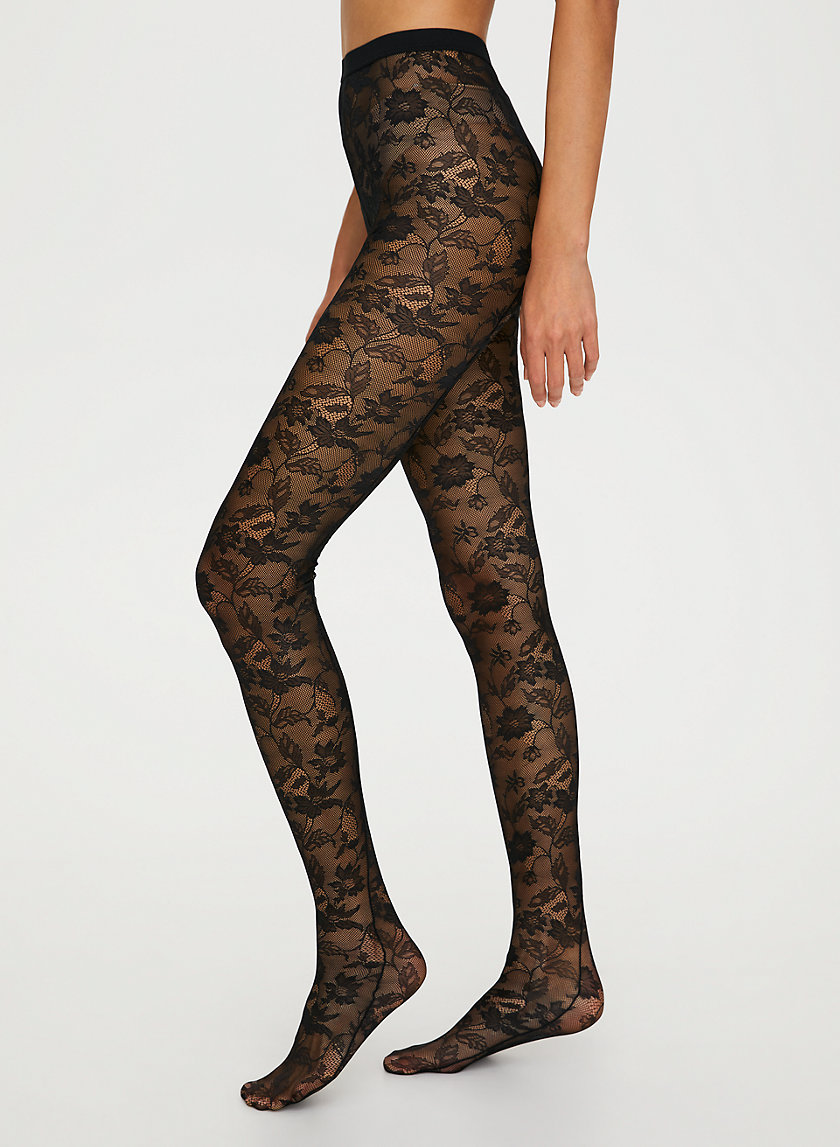 LACE TIGHTS - Lace tights