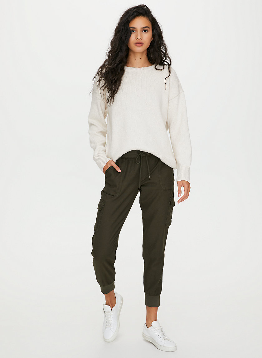 VILLAGE SWEATER - Relaxed crewneck sweater