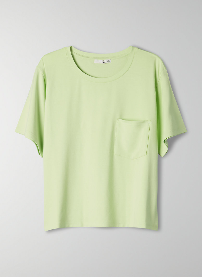 POCKET T-SHIRT - Crewneck t-shirt with pocket