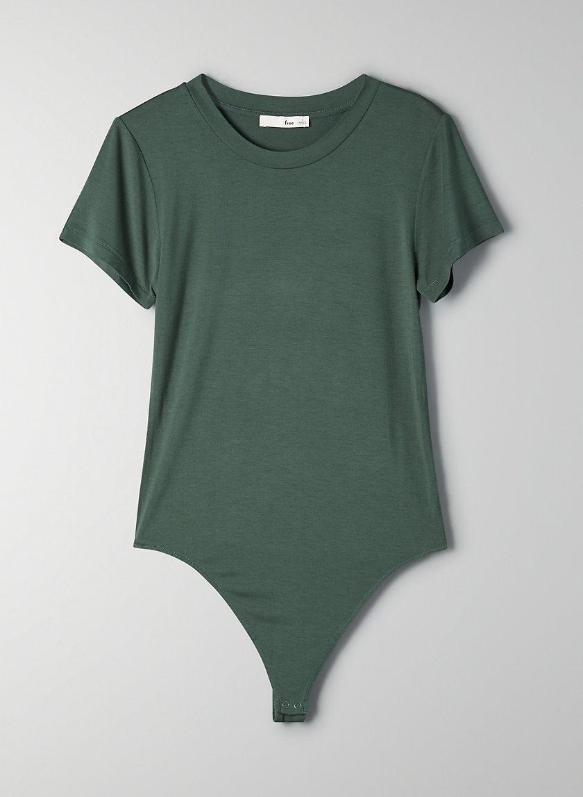 BABY TEE BODYSUIT - Crewneck t-shirt bodysuit