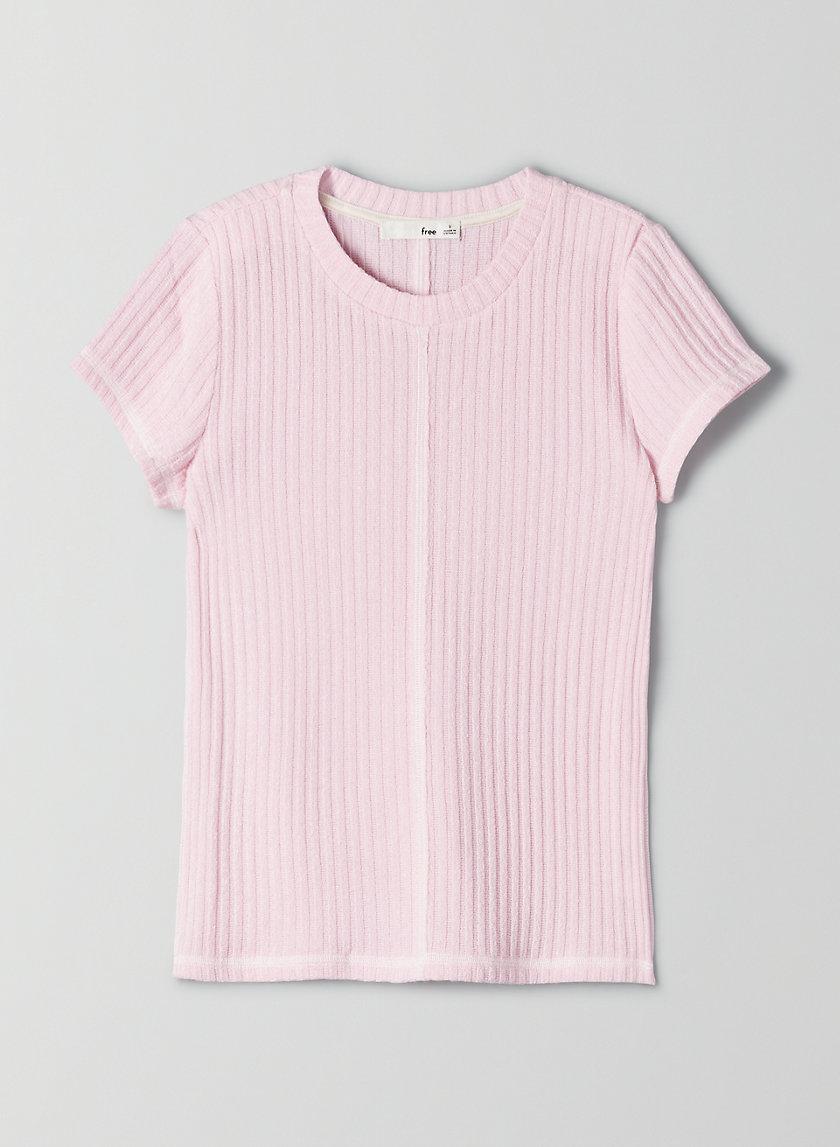 NALIA T-SHIRT - Exposed seams t-shirt