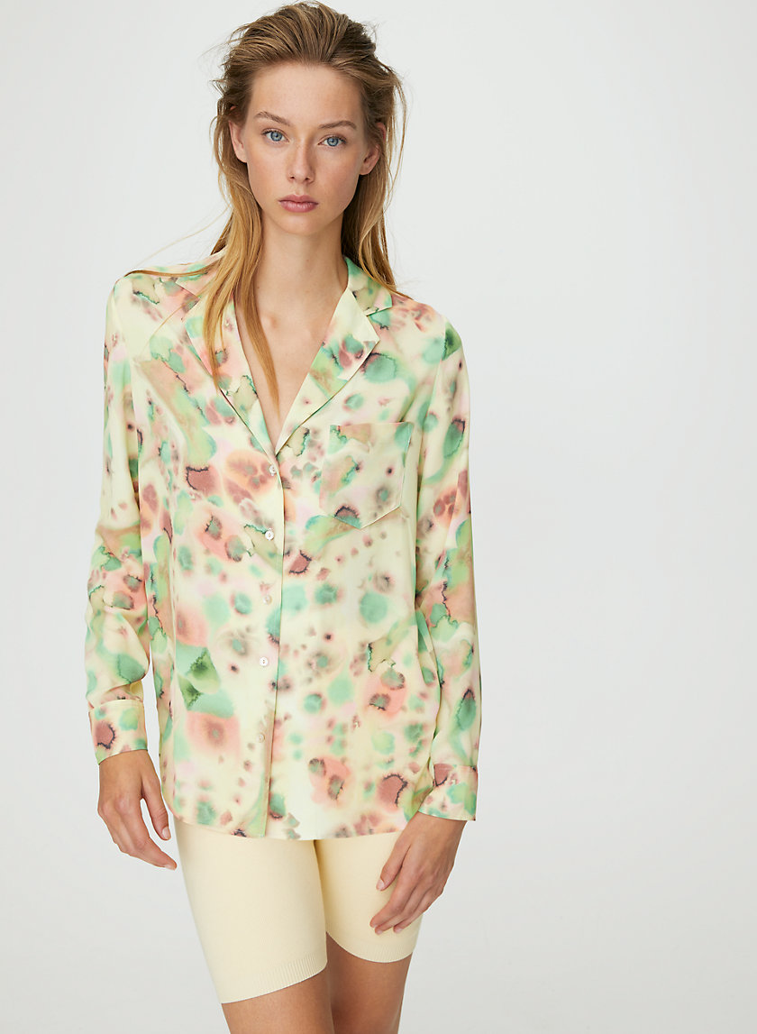 BRIONA BLOUSE - Tie-dyed blouse