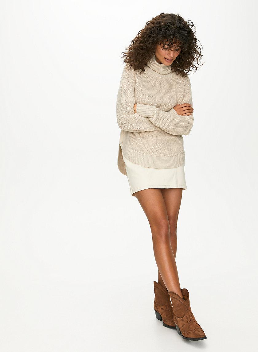 ASIANNA SWEATER - Merino-wool turtleneck sweater