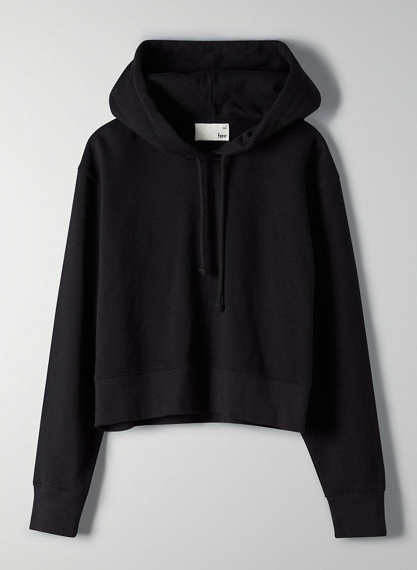 AMBROSIO HOODIE - Cropped vintage-inspired hoodie