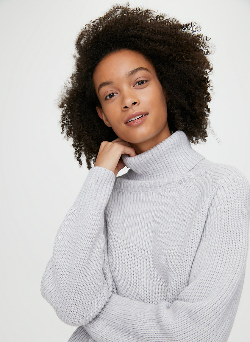 ASIANNA SWEATER - Merino-wool turtleneck sweater