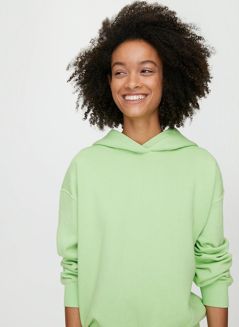 KORY HOODIE - Neon pullover hoodie