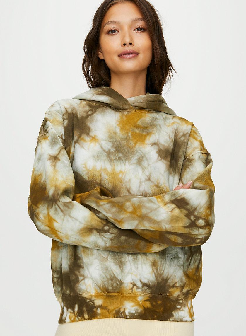 KORY HOODIE - Reversible tie-dye hoodie